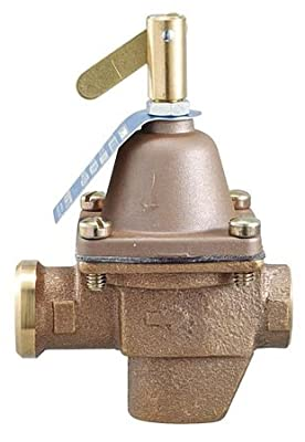 Pressure Regulator, 1/2 In, 10 to 25 psi from WATTS
