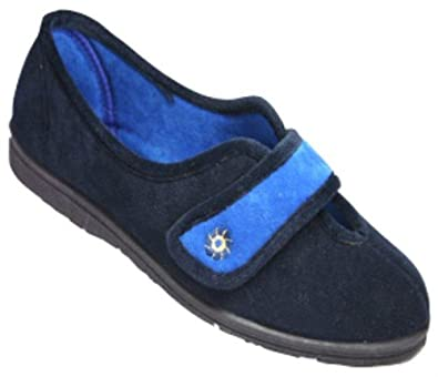 Mirak Penelope Schlappen / Damen Schuhe (35) (Blau) Ph5Dt