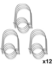 SkyFish Wire Handles for Mason, Ball, Canning Jars (12 Pack, Regular Mouth)