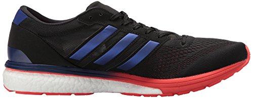 Adidas Adizero Mens 6 M Nucleo Scarpa Da Corsa Boston Nero / Reale Viola / Hi-res Rosso