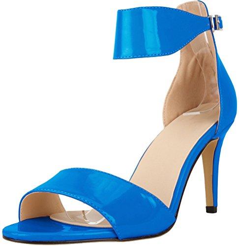 CFP - Zapatos de tacón  mujer azul celeste