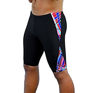 Adoretex Boys & Mens Extra Life Spandex Athletic Jammer Swimsuit Swim Shorts