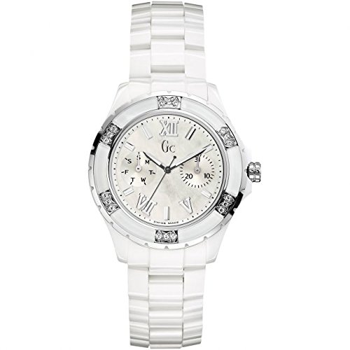 Reloj Guess Collection Gc Sport Class Xl-s X69117l1s Mujer Nácar: Amazon.es: Relojes