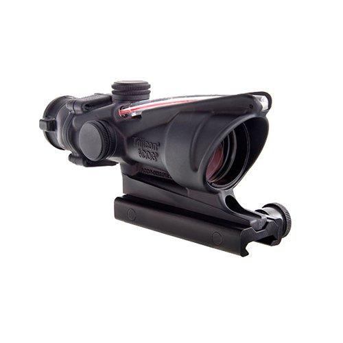 Trijicon ACOG Dual Illum Crosshair .300 Blackout Ballistic Reticle, 4X 32mm, Red