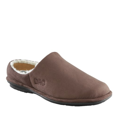 Dr.Comfort Mens Easy Therapeutic Slippers Chocolate V6P4hq
