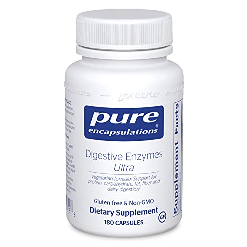 Pure Encapsulations Digestive Enzymes Ultra | Supplement to Aid in Breaking Down Fats, Proteins, and Carbohydrates for…