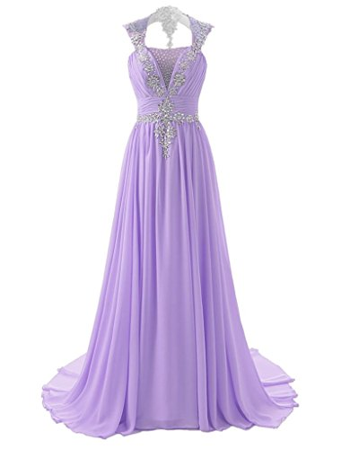 cache lavender prom dress - 1