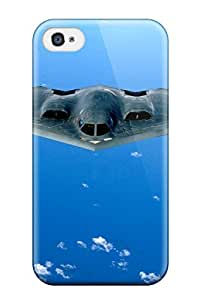 Snap-on Case Designed For Iphone 4/4s- B 2 Spirit Stealth Bomber