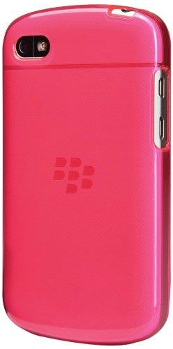 JUJEO Slim Fit Gel Skin for BlackBerry Q10 - Non-Retail Packaging - Magenta