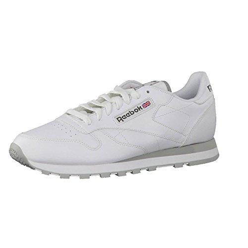 Sneaker En Cuir Classique Des Femmes Reebok, Blanc