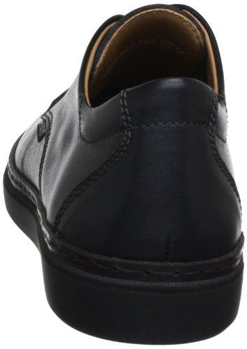 Mephisto JASON KARL 8300 BLACK P5107376 Herren Schnürhalbschuhe Schwarz (BLACK KARL 8300)