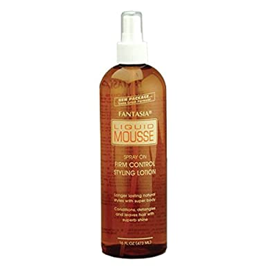Fantasia Spray On Liquid Mousse, 16.0 Ounce