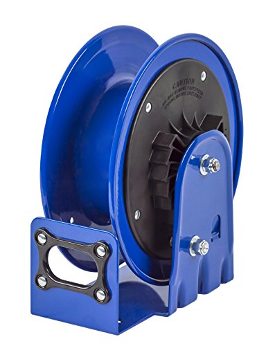 Coxreels PC10L-3012 Compact Efficient Heavy Duty Retractable Power Cord Reel, 30 ft. Capacity, 12/3, without Cord, Made in USA by Coxreels