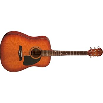 Amazon com: Oscar Schmidt ODN Dreadnought Acoustic Guitar - Natural