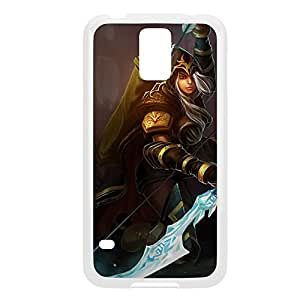 Ashe-003 League of Legends LoL case cover Ipod Touch 4 - Plastic White