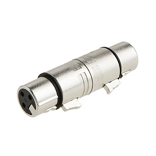 XLR Female to Female, CableCreation XLR 3 Pin Female to 3 Pin Female Microphone Line Adapter Photo #3