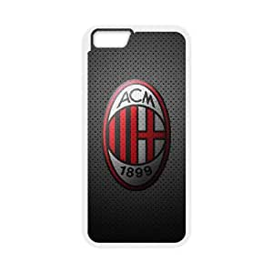 iPhone 6 4.7 Inch Cell Phone Case White AC Milan Football zrng