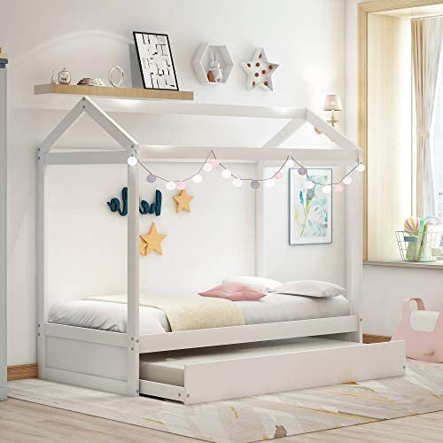 Merax Kids House Bed