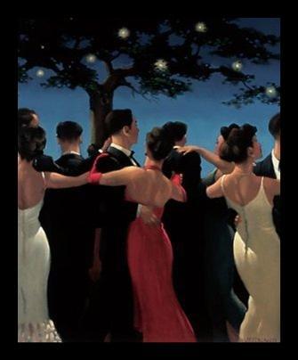 - Buyartforless Framed Waltzers by Jack Vettriano Art Print Poster, 22