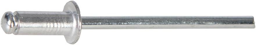 Fixman 772694 Rivets aveugles avec t/ête bomb/ée ouverte 3,2 x 8 mm 500 pcs 3-5 mm