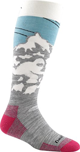 Darn Tough Yeti Cushion OTC Sock - Women's Glacier Medium