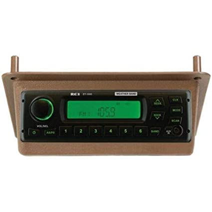 Amazon com: Radio Kit, AM/FM/WB/AUX Stereo, Brown, New, For
