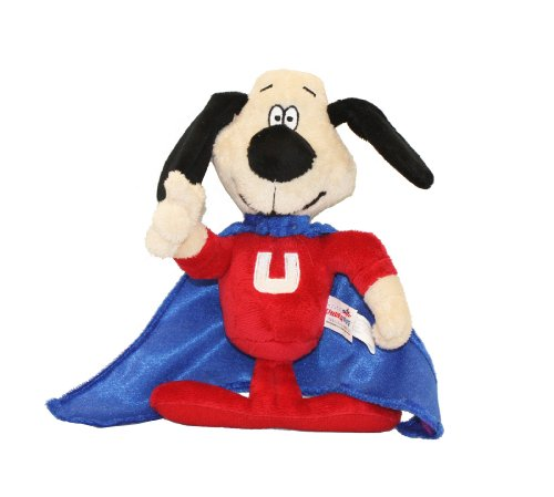 Multipet Officially Licensed Underdog Talking Dog Toy, (Underdog Cape)