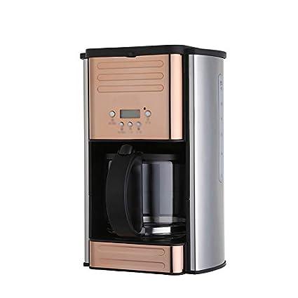 LJHA kafeiji Máquina de café, cafetera de Goteo, máquina de café Estadounidense, máquina