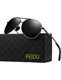 Polarized Aviator Sunglasses for Men - FEIDU Driving...