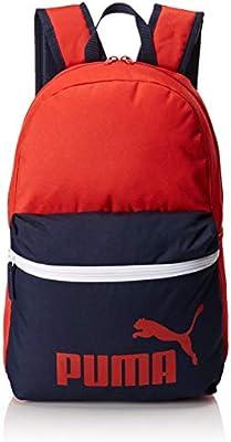 Puma Phase Backpack Mochila Mixta, Color Ribbon Red-Peacoat, tamaño OSFA
