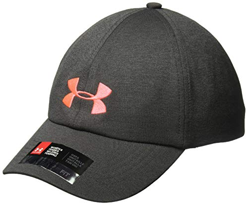 (Under Armour Women's Renegade Cap,Charcoal (019)/After Burn,One Size Fits All)
