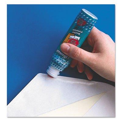 Envelope Moistener w/Adhesive, 50 mL, Green, Sold as 1 Each