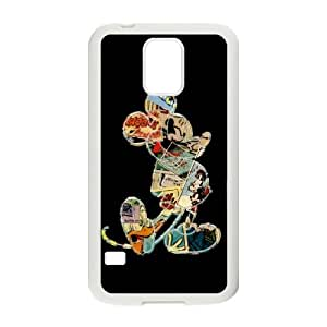 Samsung Galaxy S5 Phone Case for Classic theme Disney Mickey Mouse Minnie Mouse cartoon pattern design GDMKMM944225