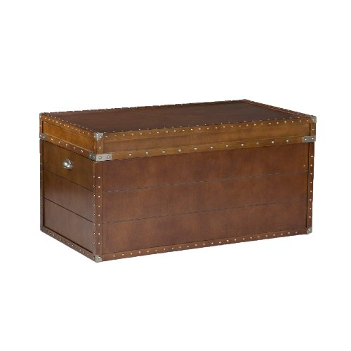 037732041919 - Steamer Trunk Cocktail Table carousel main 0