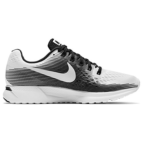 M Distance Nk black Nike Uomo Flx 2 Running in White Shorts 2in1 7in White da 1 qXHU55dwf