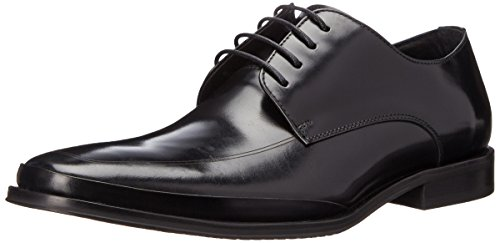 Kenneth Cole New York Mens Text Mig Oxford Svart
