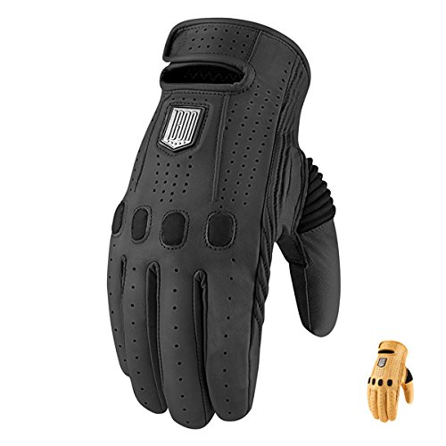 3301 Icon - ICON Prep Glove Leather Black 2X-Large