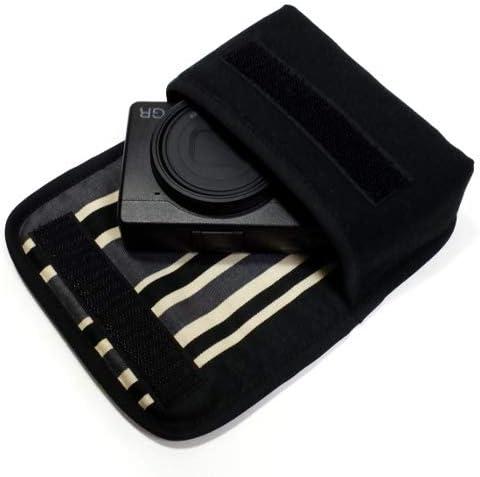 suono(スオーノ) リコーGR3ケース(ブラック・カーボンストライプ) -ハンドメイド