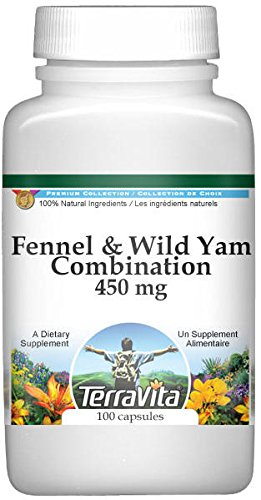 Fennel and Wild Yam Combination - 450 mg (100 Capsules, ZIN: 513401)