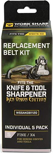 (Work Sharp Ken Onion X4 Belt Kit WKS03911)