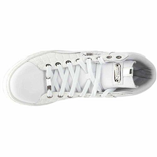 Puma Damesmand Midden Exotische Sneakers Wit