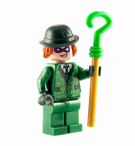 LEGO Batman Movie - Riddler Minifigure with Cane 2017