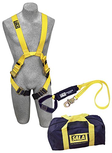 Capital Safety 1150054 Delta Arc Flash Harness and Lanyard Kit, Large