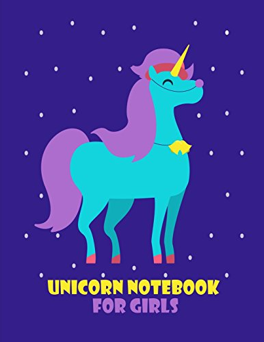 Unicorn Journal For Girls: Lined Big 8.5 x 11 Journal Notebook For Writing, Doodling and Notes (Unicorn Journals) (Volume 3)