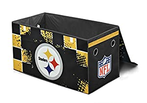 NFL Pittsburgh Steelers Collapsible Storage Trunk at Steeler Mania