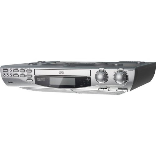 Under-Cabinet CD Player With AM/FM Radio