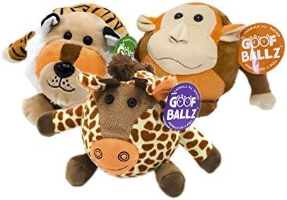 Goofballz Stuffed Animals 3 Pack Giraffe
