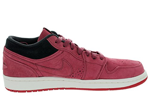 Jordan Hommes Air 1 Low Nouveau Équipe Rouge / Team Red / Gym Red / Black