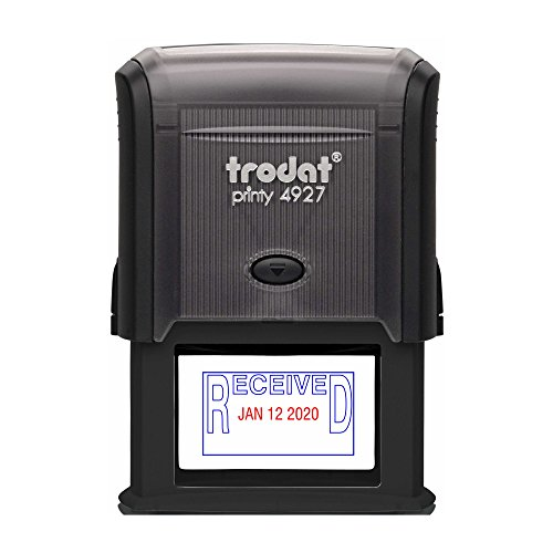 TRODAT 4729R3-B/R - Self-Inking Received (OUTLINE Text) D...