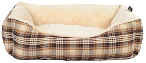 Woolrich Dakota Rectangle Pet Bed, 20 X 18 X 6/Small, Brown (Woolrich Pet)